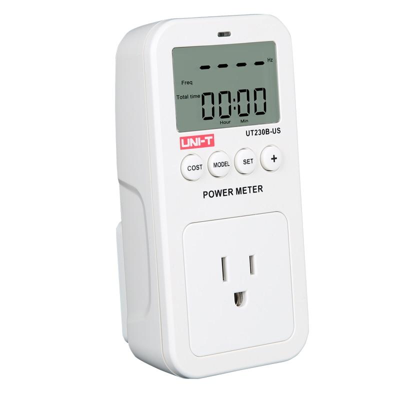 UNI T UT230B US wattmeter Voltage Current Cost Frequency Power Meter ...