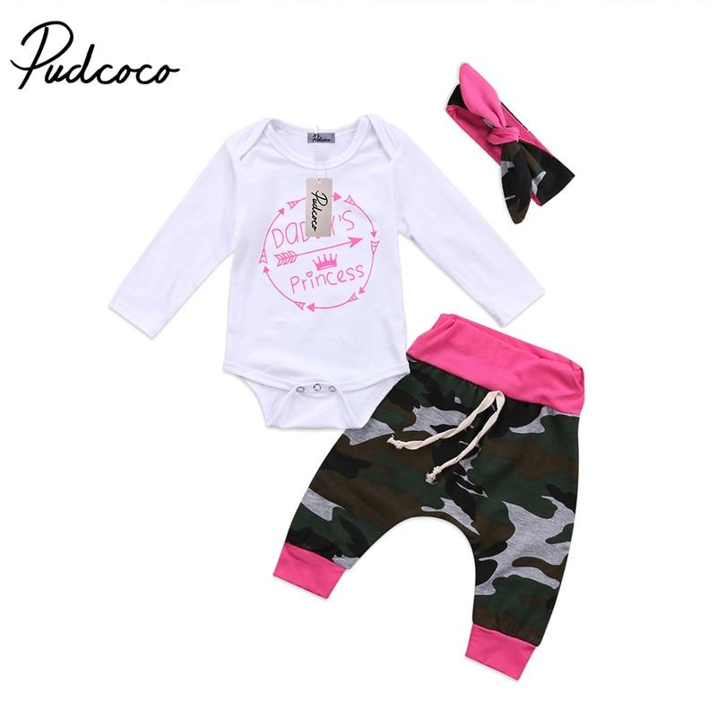 0492a6e7e 2018 New Army Green Newborn Baby Girls Boys Clothes Romper Arrow T ...