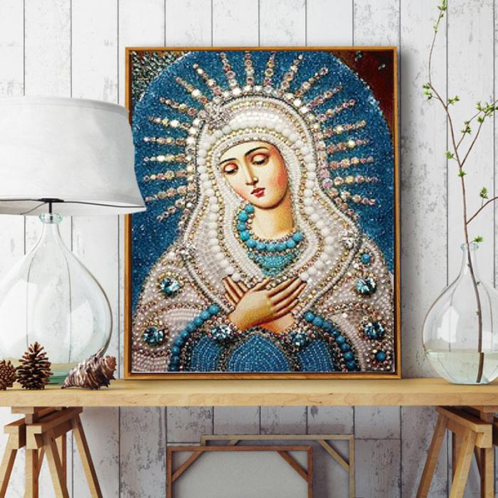 ჱDiamante Bordado 5d cristal redondo DIY pintura Cruz puntada ...