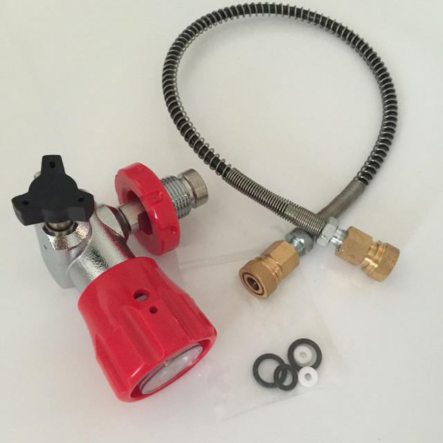 filling adaptor of high presure cylinder(big gas cylinder to small gas cylinder) -S
