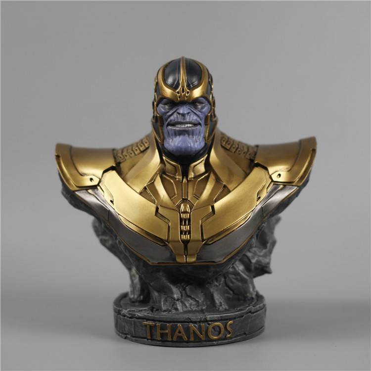 New Avengers Thanos Busto Statue Resin Action Figure painted figure Infinity War Resin Thanos figure 18cm height thanos