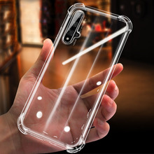 For Huawei Honor 20 Case Honor20 Pro lite Shockproof 6D Airbag Transparent Silicone for 10i Clear Cover Soft