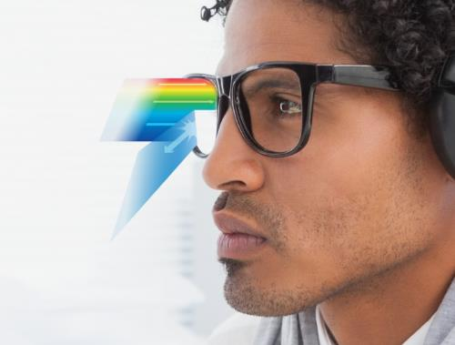 1.56 Single Vision Aspheric Clear Prescription Lenses Anti-Blue Ray Optical Lens For Eyes Myopia Computer Glasses