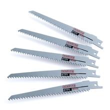 """YIWEI 6 """"lame de scie sauteuse en métal scie alternative 6 100mm bois coupe outils de travail du bois 5 pièces S644D"""