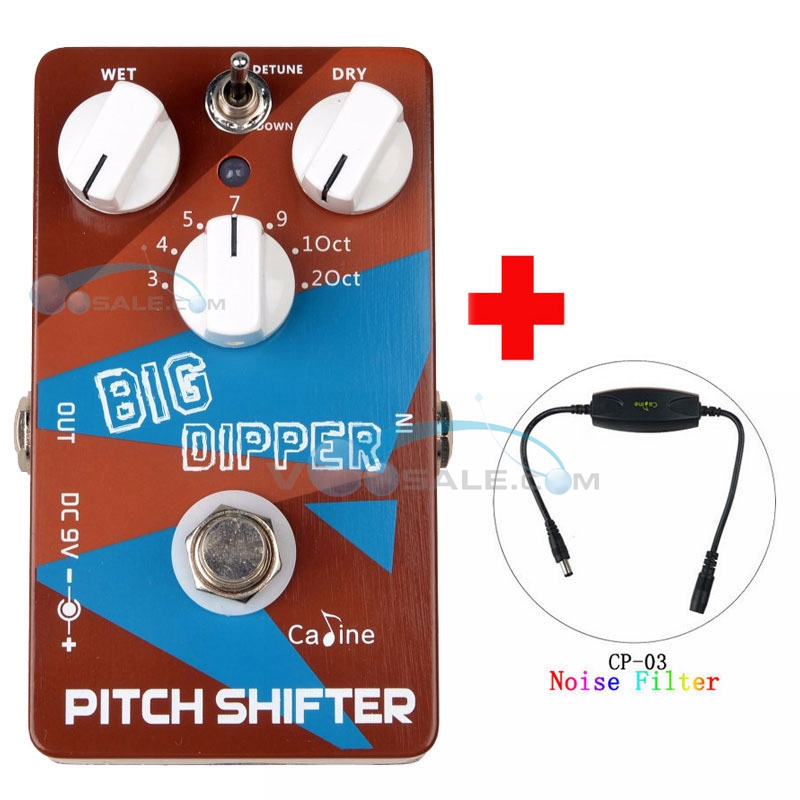 Caline CP 36 Guitar Effects Pedals Pitch Shifter Big Dipper Guitar Effect Accessories with Ture Bypass