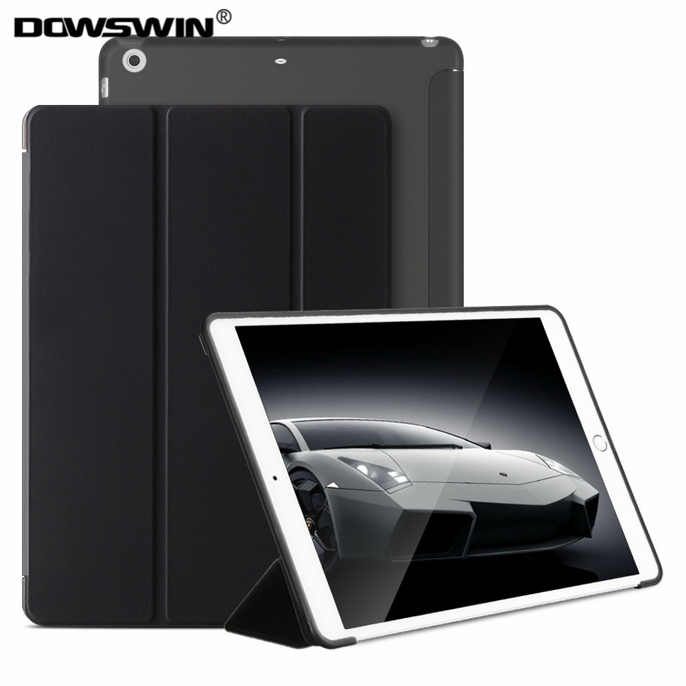 for iPad Mini 1 Mini 2 Mini 3 Case ,DOWSWIN PU Leather Ultra Slim Smart Cover for Apple iPad Mini Case TPU Soft back cover deppa ultra cover чехол подставка для ipad mini blue
