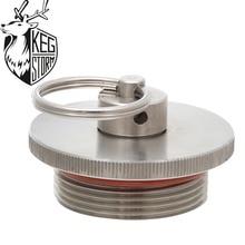KEG STROM Stainless Steel Mini Keg Beer Lid Beer Growler Lid Homebrew Pressure Relief Valve For 2L/3.6L/5L/10L Diy Homebrew стоимость