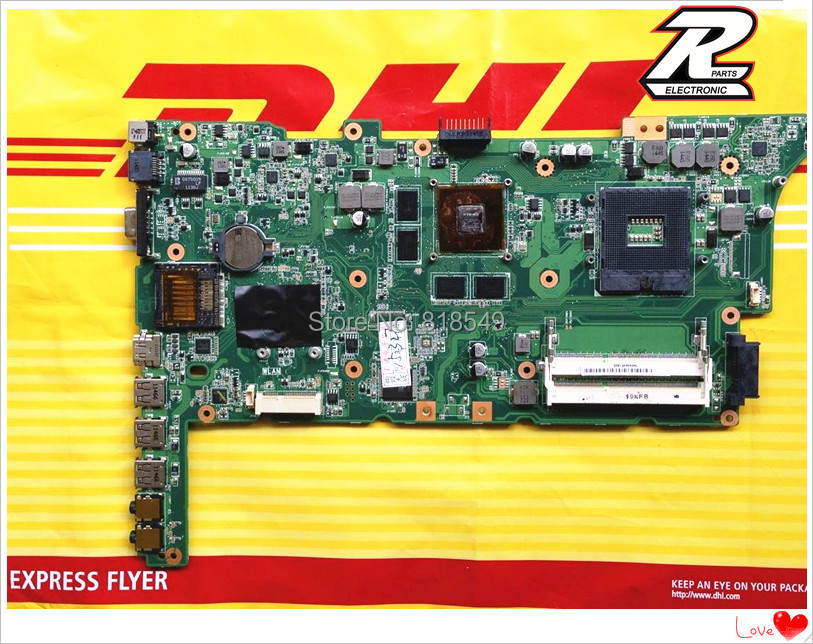 FOR ASUS K73SV K73SD REV 2.3 Notebook Motherboard GT540M professional Tested OK package with box