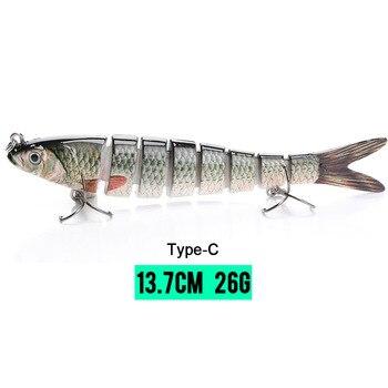 Δόλωμα Ολόκληρο Ψαράκι Τεχνητό Υψηλής ομοιότητας Με Αληθινό Βυθιζόμενο Ψάρεμα Χόμπι MSOW