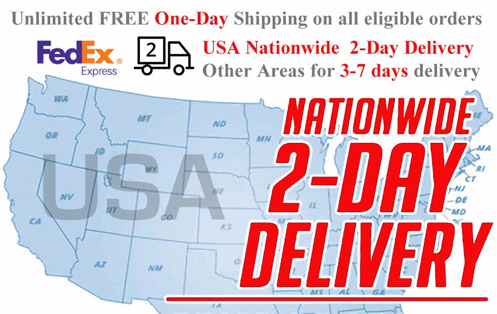 FedEx IP usa 2day delivery