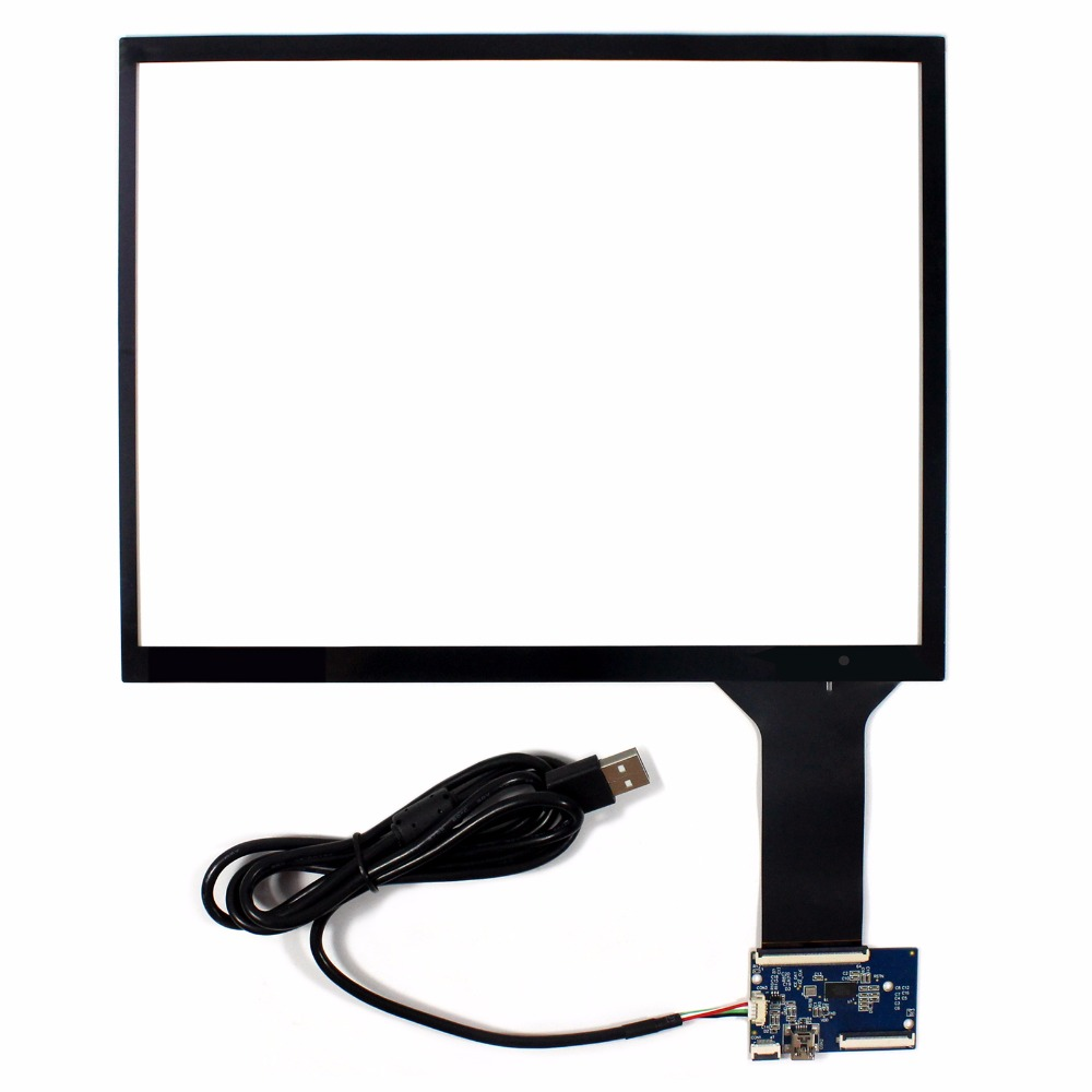 12.1 Capacitive Touch Screen+USB Controller For 800x600 1024x768 4:3 LCD Screen