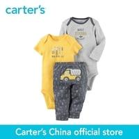 Carter S 3 Piece Baby Children Kids Clothing Boy Spring Summer Little Character Set 126G855