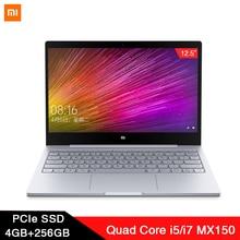 Xiaomi Laptop Air 12,5 ''Intel Core M3-8100Y двухъядерный ноутбук 4 ГБ ОЗУ 128 Гб SSD Двухдиапазонная HDMI Windows10 1080P HD камера