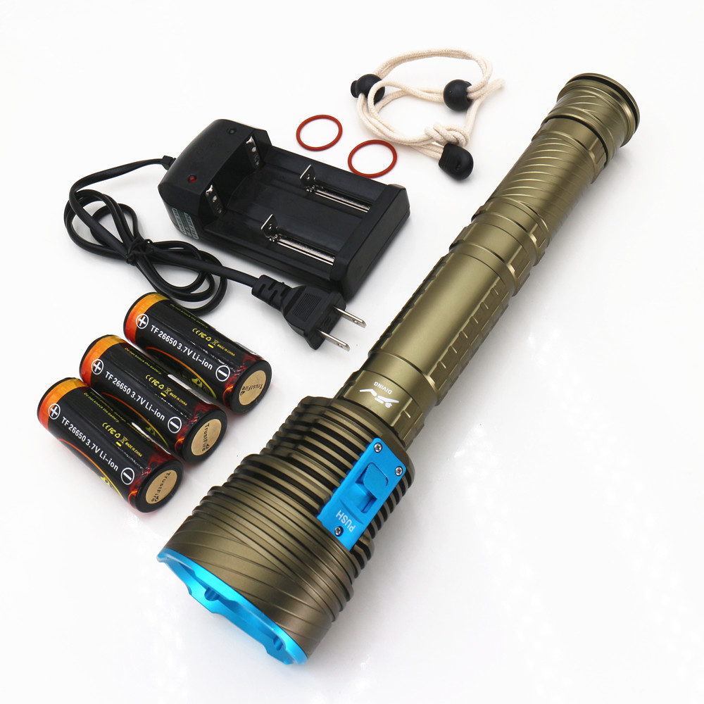 Aliexpress.com : Buy 20000LM Underwater Dive Light led ...