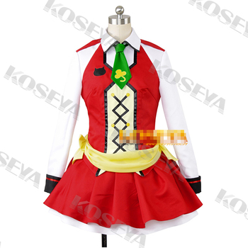 LOVE LIVE 2 Koizumi Hanayo SUNNY DAY SONG Customized Uniforms Cosplay Costume Free Shipping
