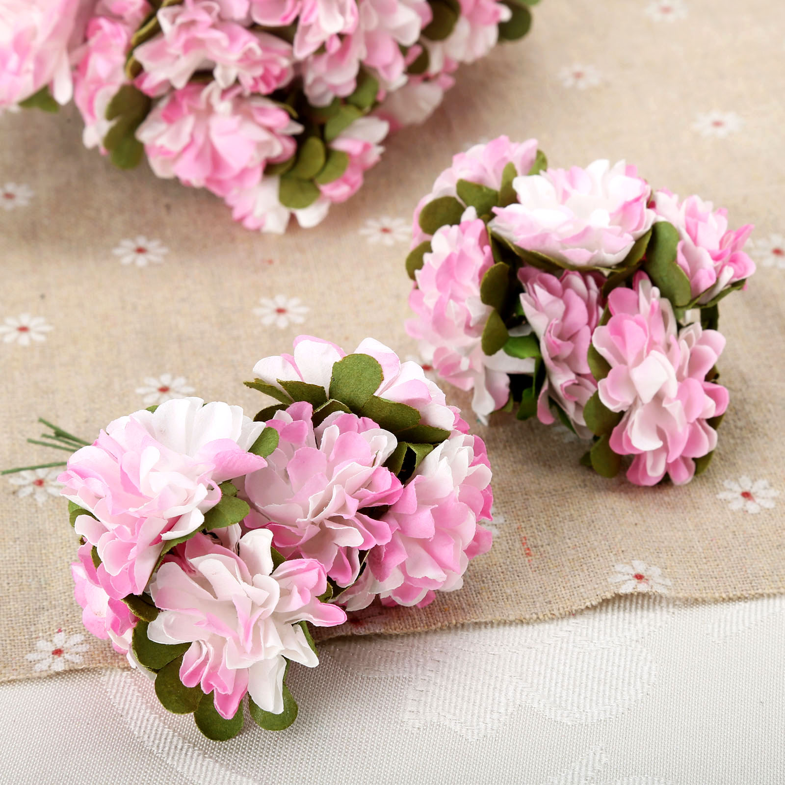 Paper flower carnations stamen artificial flower bouquet for wedding paper flower carnations stamen artificial flower bouquet for wedding decoration diy scrapbooking fake flower in artificial dried flowers from home izmirmasajfo