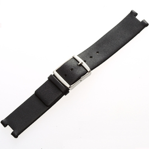 Image 3 - MAIKES New Hot Sales Genuine Calf Leather Watch Band Black Soft Strap Watchband Case For CK Calvin Klein K1S21102 K1S21120