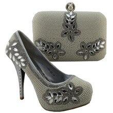 จัดส่งฟรีโดยดีเอชแอออกแบบใหม่รองเท้าอิตาลีกับถุงจับคู่รองเท้าผู้หญิงแอฟริกันและถุง1308-L64ชุดขนาด38-42