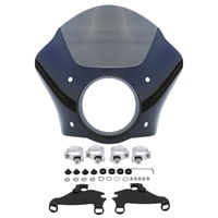 Motorcycle Gauntlet Fairing 49MM Mounting Kit For Harley Dyna Super Glide Custom Low Rider FXD FXDC FXDL FXDI35