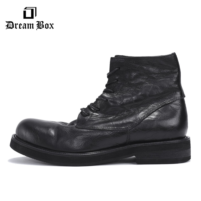 Motorcycle martin boots mens chelsea leather men botas hombre ankle men bota masculina martin shoes Riding Equestrian