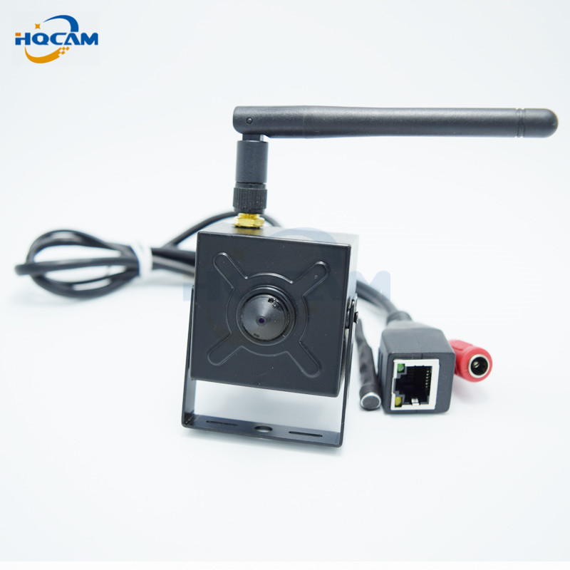 HQCAM HD 720P H.264 Onvif 2.0 mini ip camera wifi HD Wifi IP Camera Wireless camera P2P Plug Play Camera support microphone