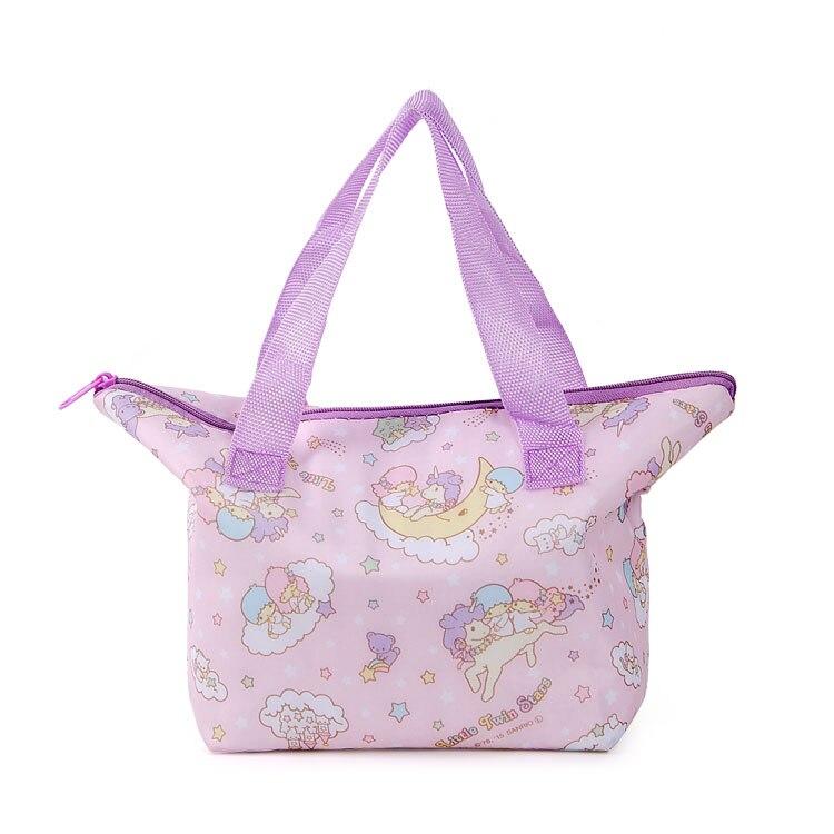 Cartoon Travel Insulated Thermal Cooler Lunch Bag Carry Kitty Handbag Littletwinstars Small Ziplock Bags Reusable Folding Bag