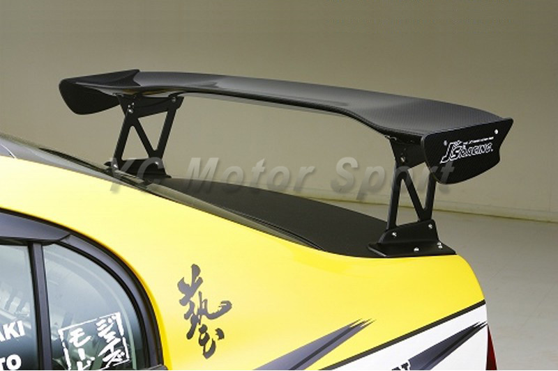 Car Accessories Carbon Fiber J's Racing Style 1390mm 3D Rear Spoiler Fit For 2006-2010 Civic 4DR FD2 Trunk GT Wing car styling for honda ek civic 4dr 98 00 carbon fiber oem trunk tailgate glossy fibre boot racing auto body kit accessories trim