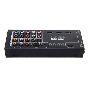 HDMI Audio Extractor 8 Inputs to 1 HDMI Output w/ Optical Coaxial 5.1 Channel