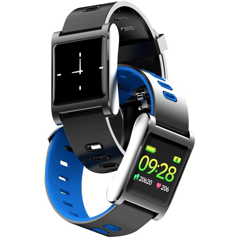 JRQITO K88 Plus Blutdruck Herz Rate Monitor Smart Uhr IP68 Wasserdichte Sport Fitness Trakcer Uhr Männer Frauen Smartwatch