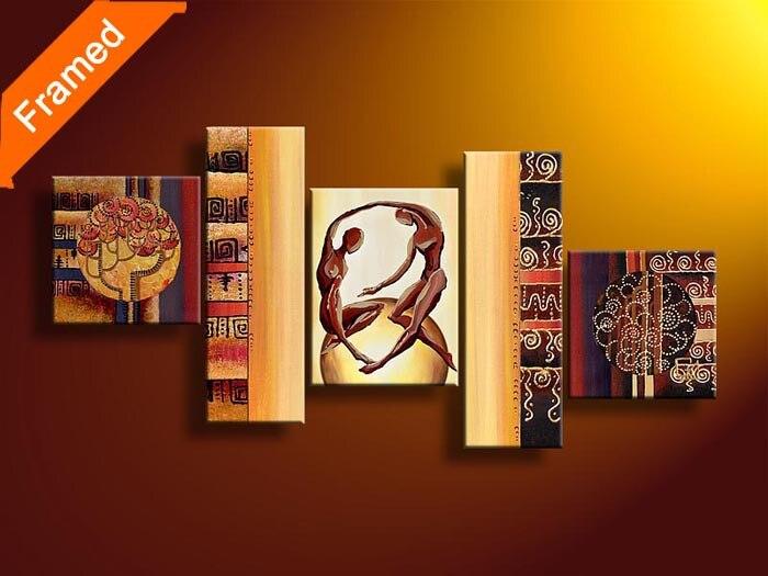 Современные украшения дома картины для гостиной стены человеческое тело дизайн холсте картина маслом для друзей подарок