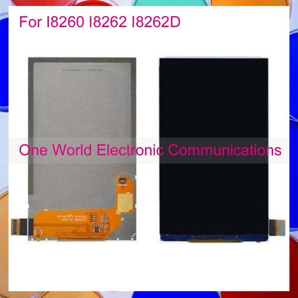 One World High Quality 4.3 New For Samsung Galaxy Core I8260 I8262 I8262D LCD Display Screen With Tracking Code + Free Shipping