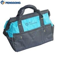 14 Multifunction Handheld Storage Tools Bag Utility Bag Electrical Package Oxford Canvas Waterproof With Carrying Handles
