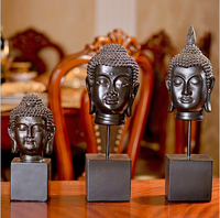 D creative Home Furnishing European room decor Thailand Buddha resin soft decoration crafts gifts decoration decoration