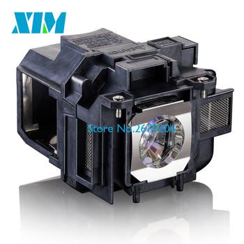 EB-X03 EB-X18 EB-X20 EB-X24 EB-X25 EH-TW490 EH-TW5200 EH-TW570 EX3220 EX5220 EX5230 projektor do V13H010L78 ELPL78 do projektora Epson tanie i dobre opinie sunnypro Compatible Projector Bulb with housing 180Days 2500H