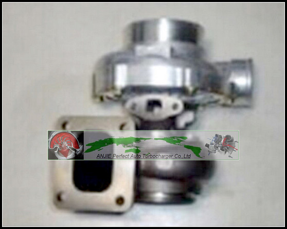 Turbocharger Turbo oil cooled T76 T4 Turbine: A/R 0.81 Comp: A/R 0.80 1000HP Turbo charger T4 flange V-Band with Gaskets гиперэкстензия