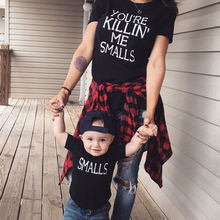 Family Shirt Dad Mom Kid Baby T-Shirt Tops Romper Outfits Matching Clothes New Family Matching Outfits