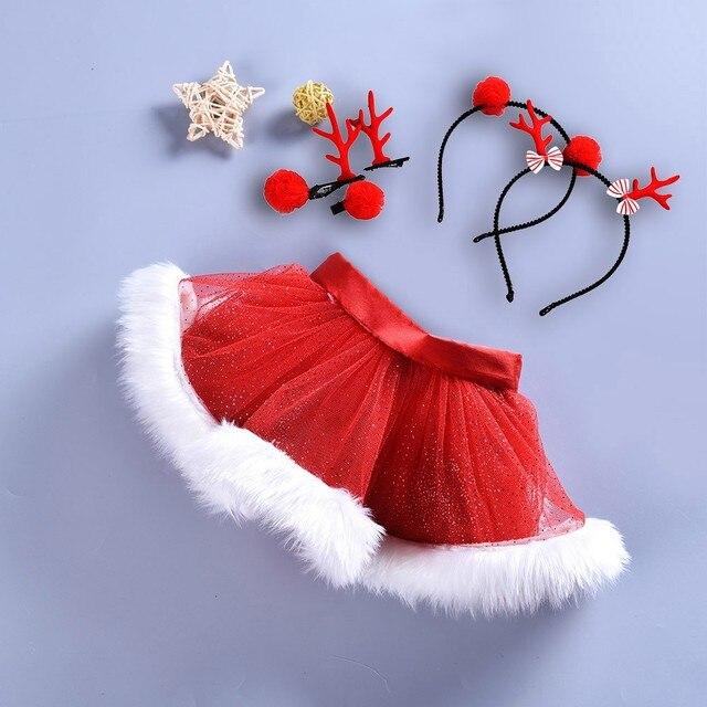 Faldas De Ballet Tutu De Navidad Para Ninas Y Bebes Falda De Fiesta