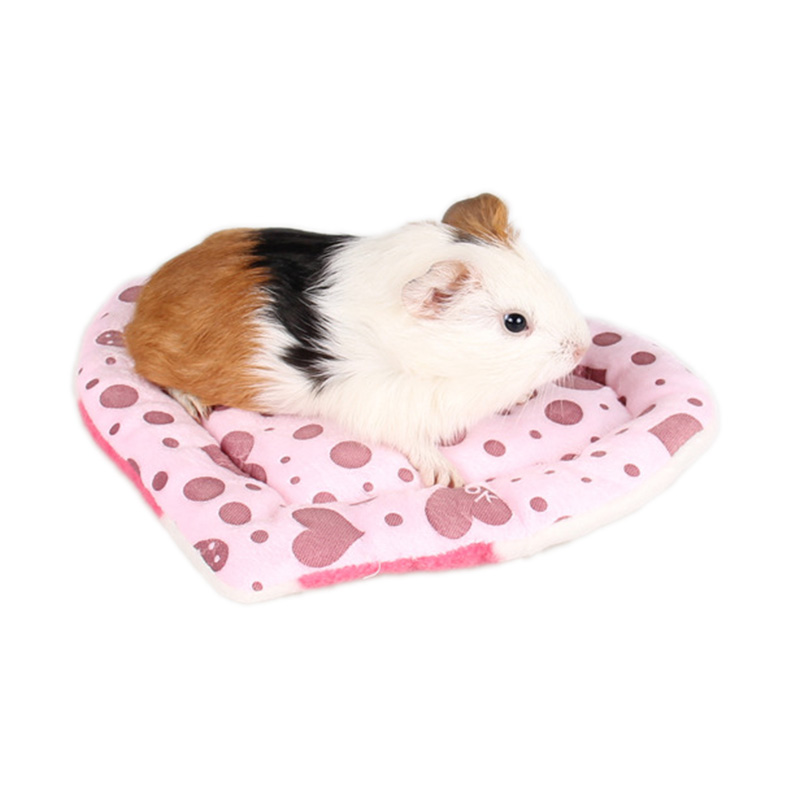 Traumdeutung Guinea Pig Cavia Bed Hamster Accessories Winter Warm Soft Cushion Mat Small Animals Chinchilla Rabbit Bed Pets