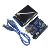 2.8นิ้วTFT LCDโมดูลหน้าจอแสดงผลแบบสัมผัส+ Uno R3คณะกรรมการพัฒนาการ
