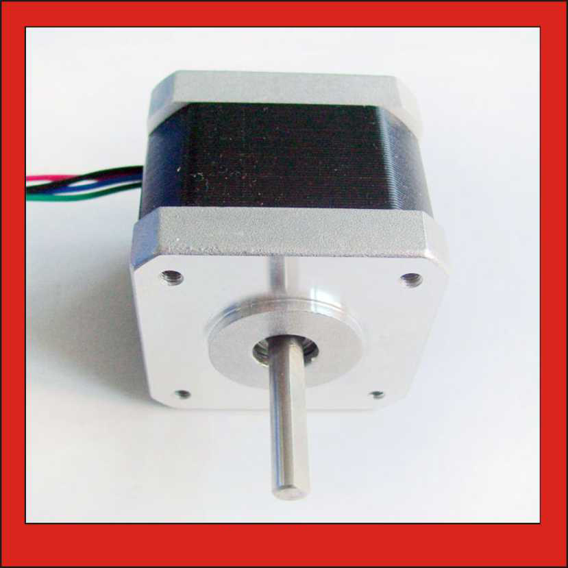 5pcs/Lot! NEMA 17 Stepper Motor 56oz-in 1.8 degree for 3d Printer CNC Kits Body Length 40mm Stepper Motor nema17 CE ROHS электронные компоненты tec1 12710 rohs ce 40mm