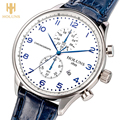 HOLUNS Original Men Wrist Watch Date Display 5Bar Water Resistant  Luxury Japan Quartz Movement Business Calender Male Clock