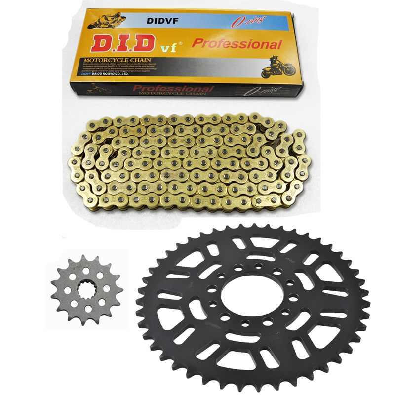 MOTORCYCLE 520 CHAIN Front & Rear SPROCKET Kit Set FOR Suzuki Road DR200 S-G/H/J/K/M/G/H/J/S USA/SE-T/V/W/X/Y/K1-K9/L0-L5, SP200