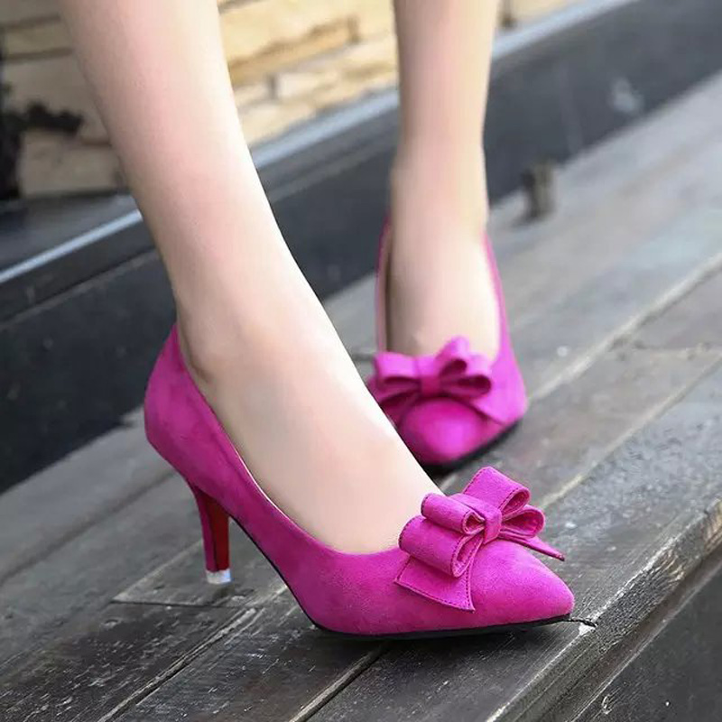 New Brand Fashion font b Women b font Pumps Red Bottom Thin High Heel Pumps Shoes
