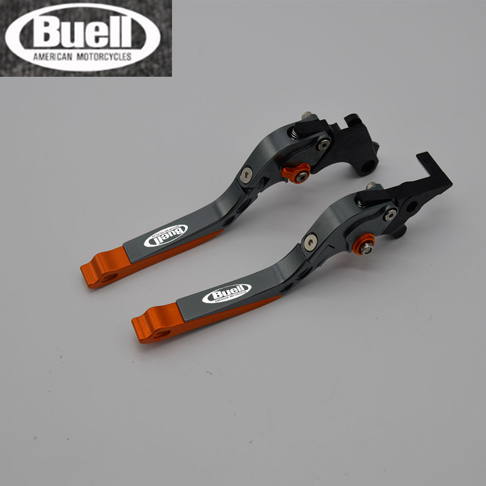 2018 NEW CNC Folding&Extending Brake Clutch Levers For <font><b>Buell</b></font> 1125R <font><b>1125</b></font> R 2008 2009 1125CR <font><b>1125</b></font> CR 2009 image