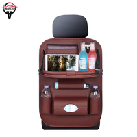 best quality Folding car seat storage bag car seat box car seat cover Interior Accessories Stowing Tidying leather free shipping