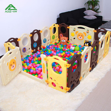 Infant Baby Child Game Fence Infant Safety Toddler Fence Gate Guardrail Animal Safety Fence Plastic guardrail