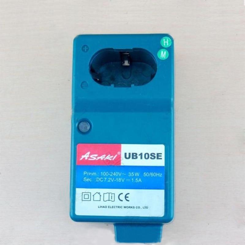 Asaki Boutique akkumulátortöltő csere Hitachi UC18YG-hez, Makita - Elektromos szerszám kiegészítők - Fénykép 3