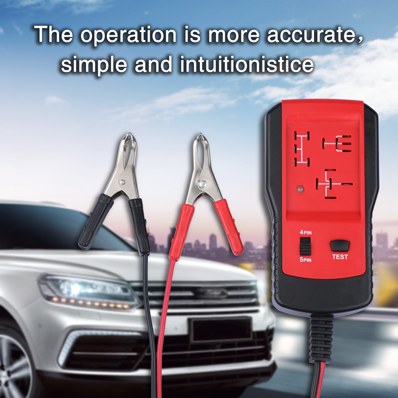 12V Car Relay Tester Automotive Diagnostic Tool Car Accessories Vehicles Auto Relay Battery Volt Tester Portable Tool Vehicles-in Electrical Testers & Test Leads from Automobiles & Motorcycles