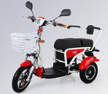 60v20Ah factory wholesale Electric Scooter for disabled people / 3 Wheel 16 inches citycoco electric scooter 500w