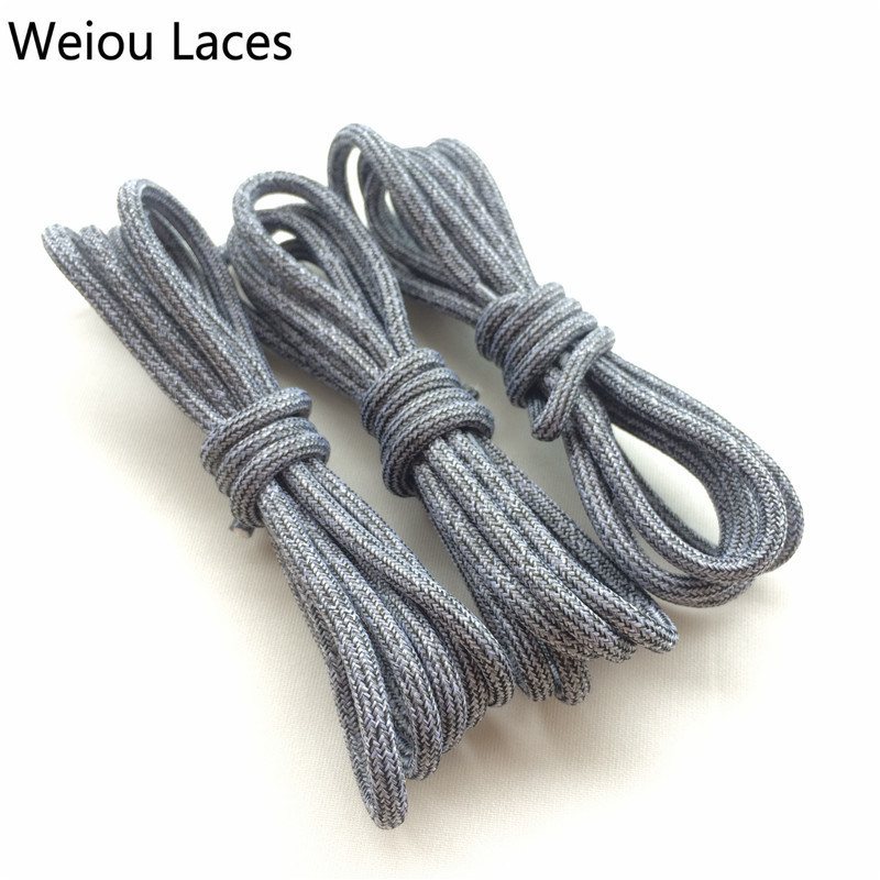 (30Pairs/lot)Weiou Round Rope Shoe Lace Sport Polyester Ropelace Athletic Bootlace Customized Shoestring For Sneakers Kids Shoes